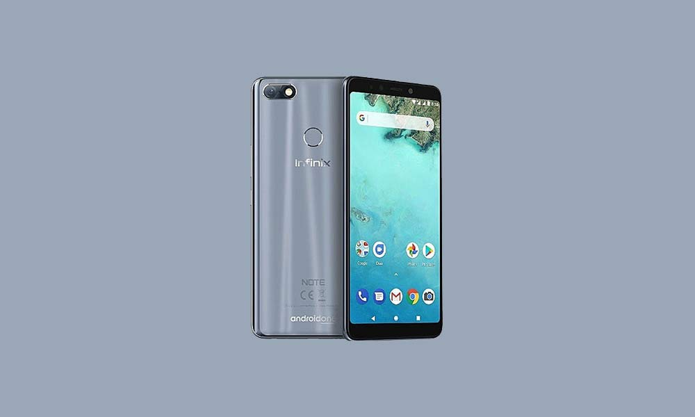 ByPass FRP lock or Remove Google Account on Infinix Note 5