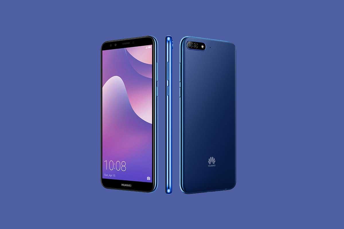 Cómo encontrar números de serie IMEI en Huawei Y7 Pro (2018)