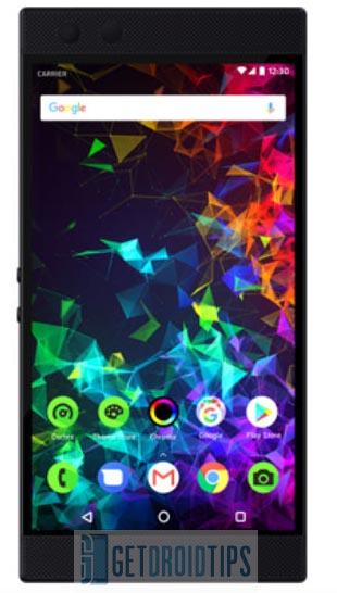 Razer Phone 2 Especificación de fugas
