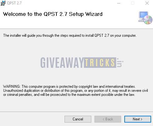 Instalar QPST
