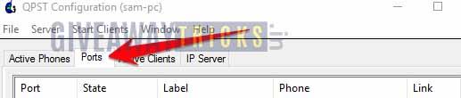 Configuración QPST