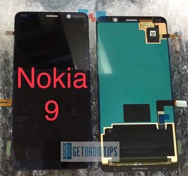 La imagen del panel frontal del Nokia X7 y Nokia 9 revela una sorpresa inesperada