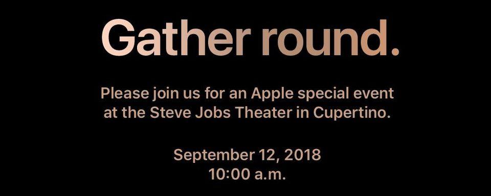 Lanzamiento de iPhone 2018 en septiembre