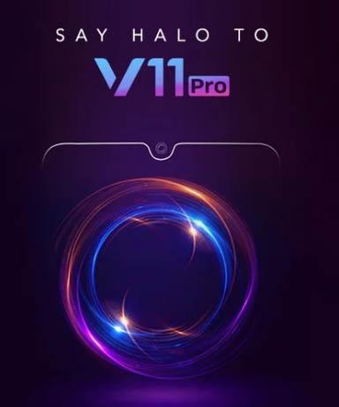 La fecha de lanzamiento de Vivo V11 Pro Indian revela oficialmente: las características destacadas de Droplet Notch y UD Fingerprints son lo más destacado