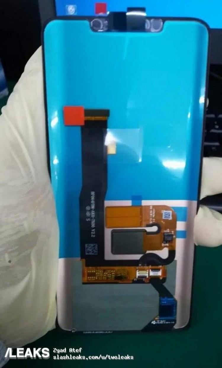 El supuesto ensamblaje de la pantalla del Huawei Mate 20 se filtró