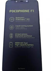 Xiaomi Pocophone F1 Live Images y Retail Box revelan el buque insignia más barato por completo