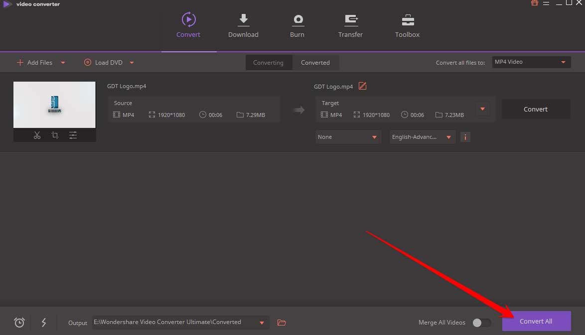 Agregar archivos Wondershare Video Converter 3