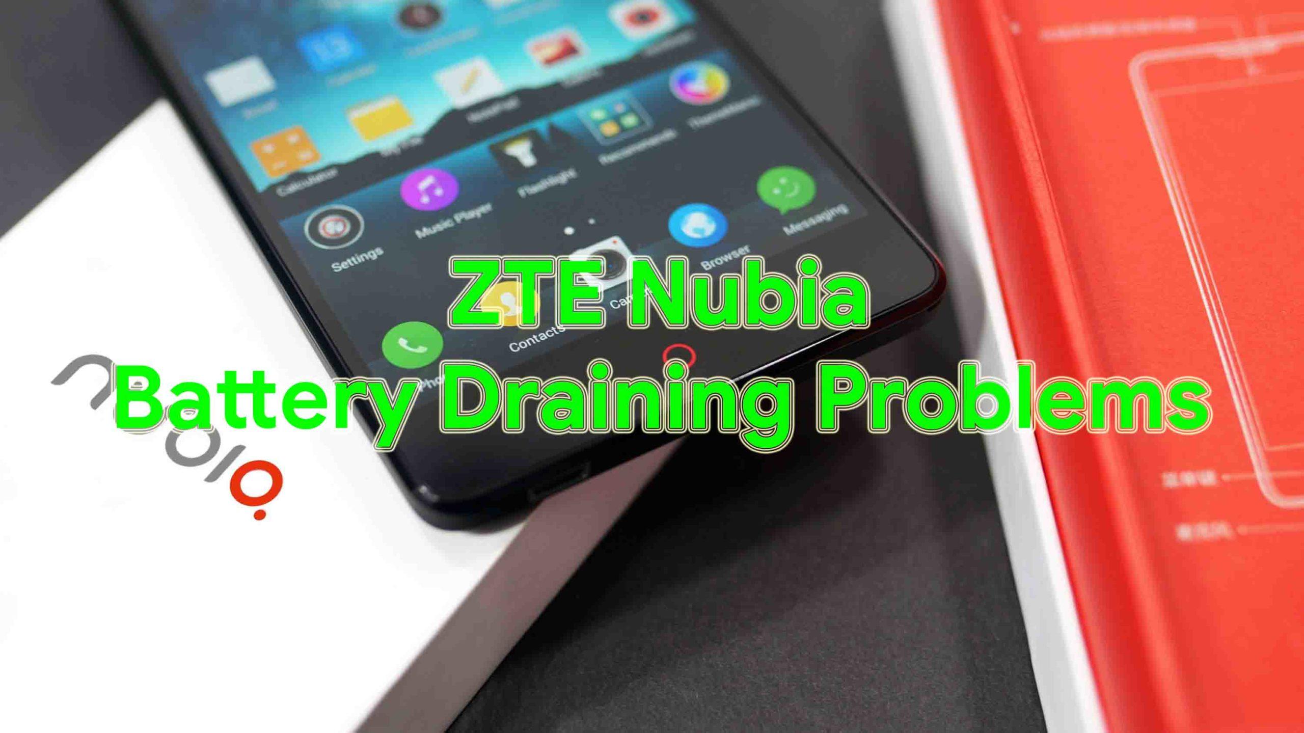 Cómo solucionar los problemas de descarga de la batería ZTE Nubia - Solución de problemas y soluciones