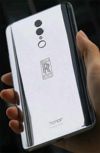 Las filtraciones de imágenes revelan el próximo Honor 10 Rolls Royce Edition: cuesta mucho más que el iPhone X