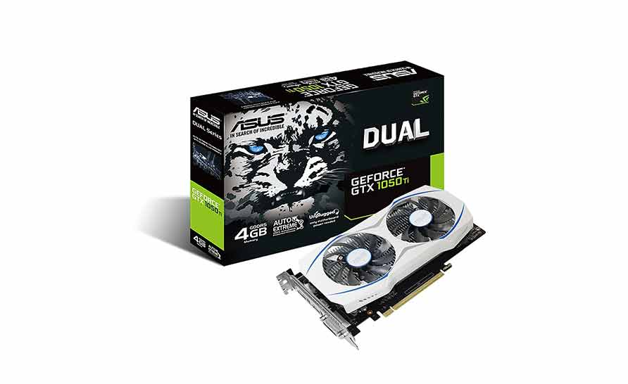 Tarjetas gráficas ASUS Geforce GTX 1050 Ti 4GB