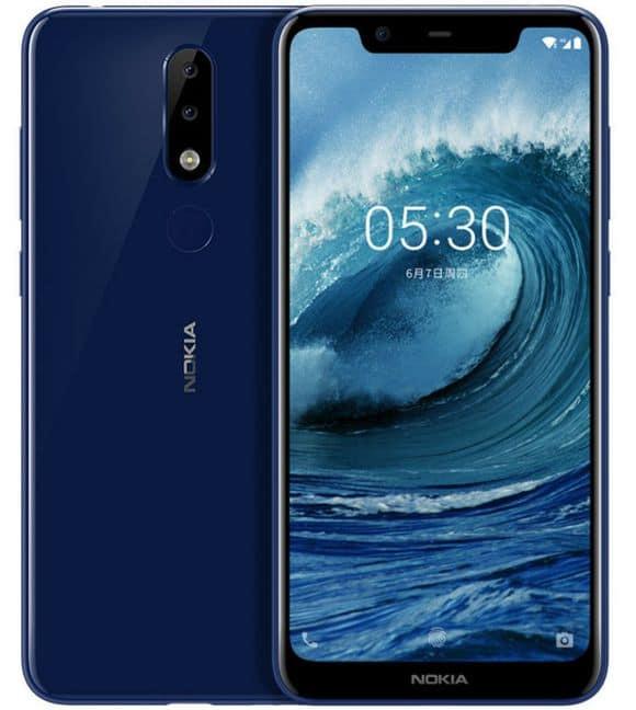 Nokia X5 imágenes