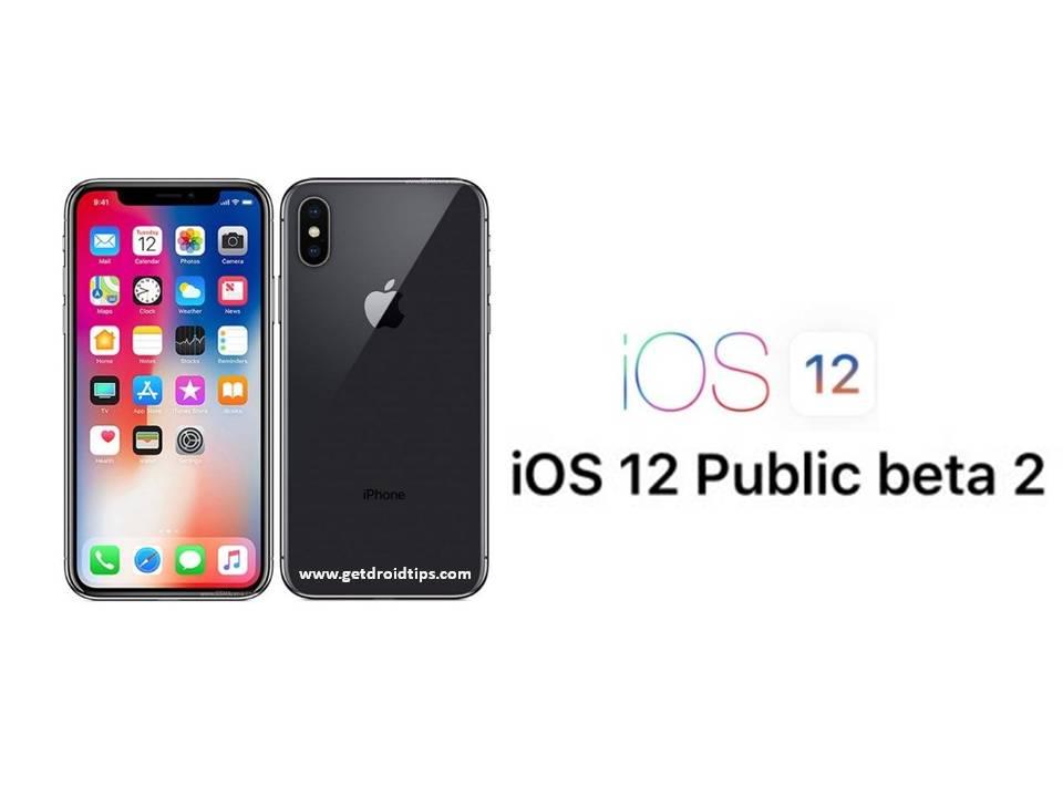 Apple ahora lanza iOS 12 Public Beta 2 para sus dispositivos
