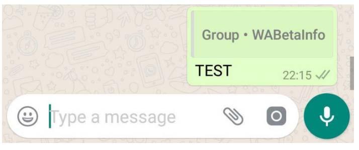 WhatsApp Beta v2.18.201