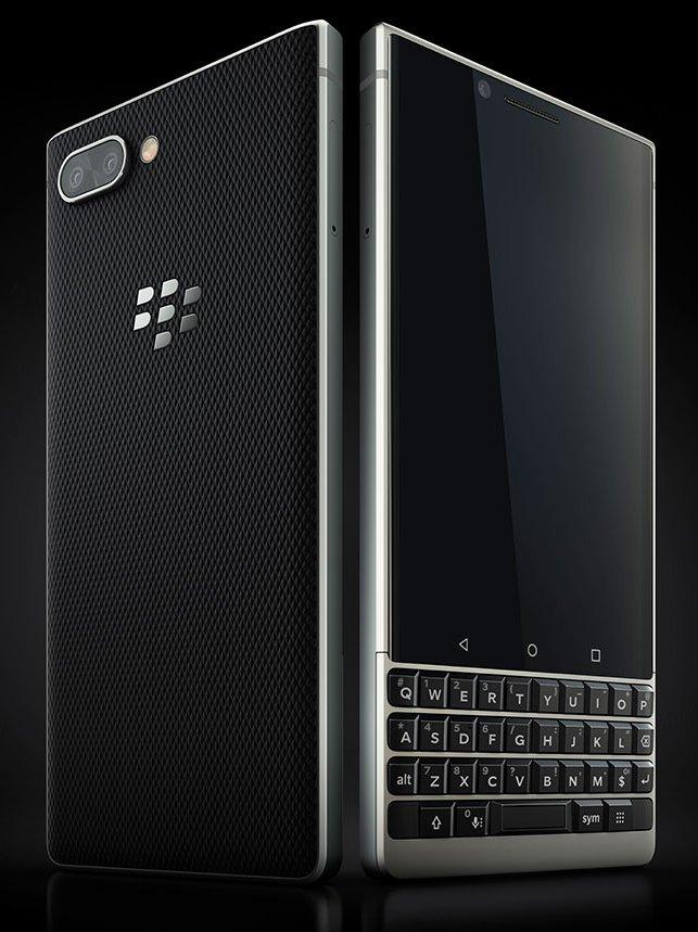 BlackBerry KEY2 official render