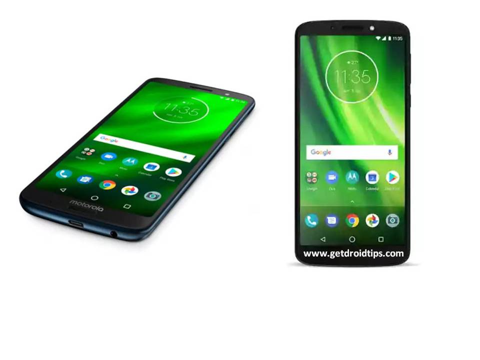 Nuevos dispositivos de gama media Motorola Moto G6 y G6 Play lanzamientos en India