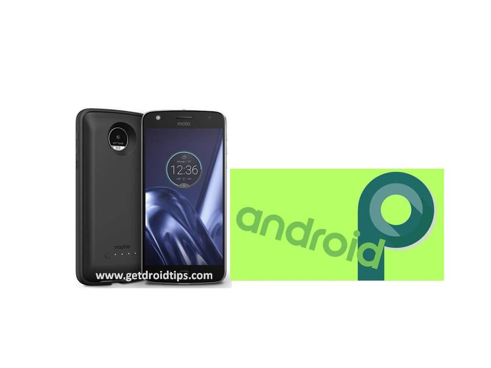 El próximo Android P ya está disponible para Motorola Moto Z