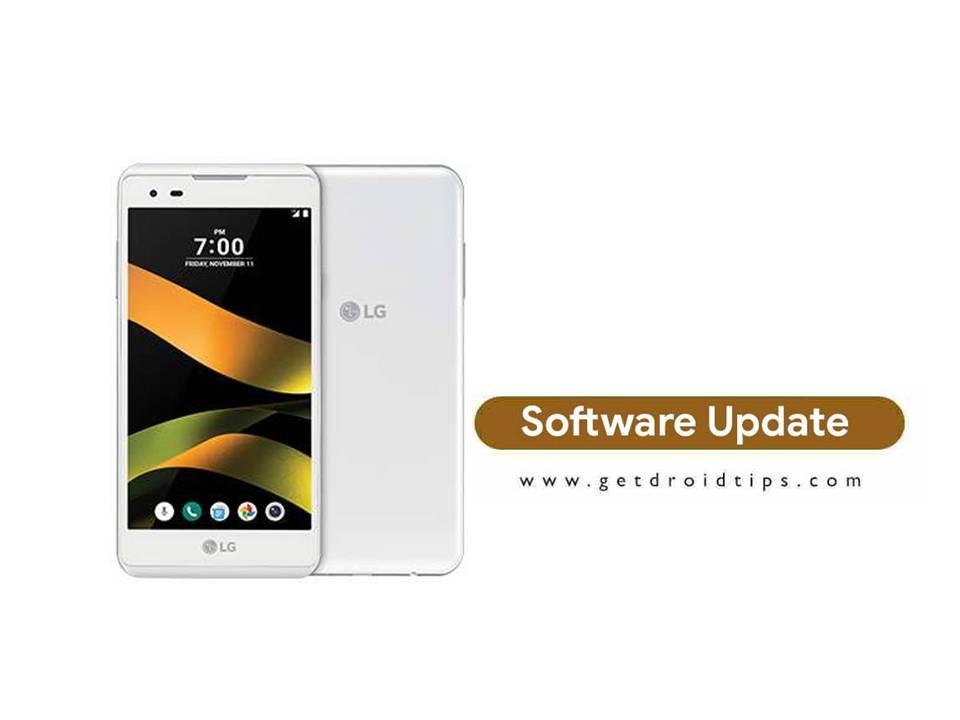 Sprint está rodando LG Tribute HD LS676ZVA Actualización de seguridad de abril de 2018