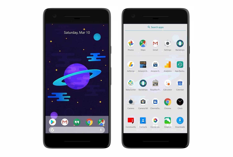 Lanzador de Android 9.0 Pie