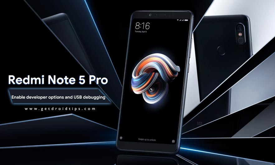 How to enable developer options and USB debugging on Redmi Note 5 Pro