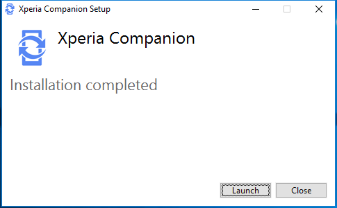 Herramienta Xperia Companion