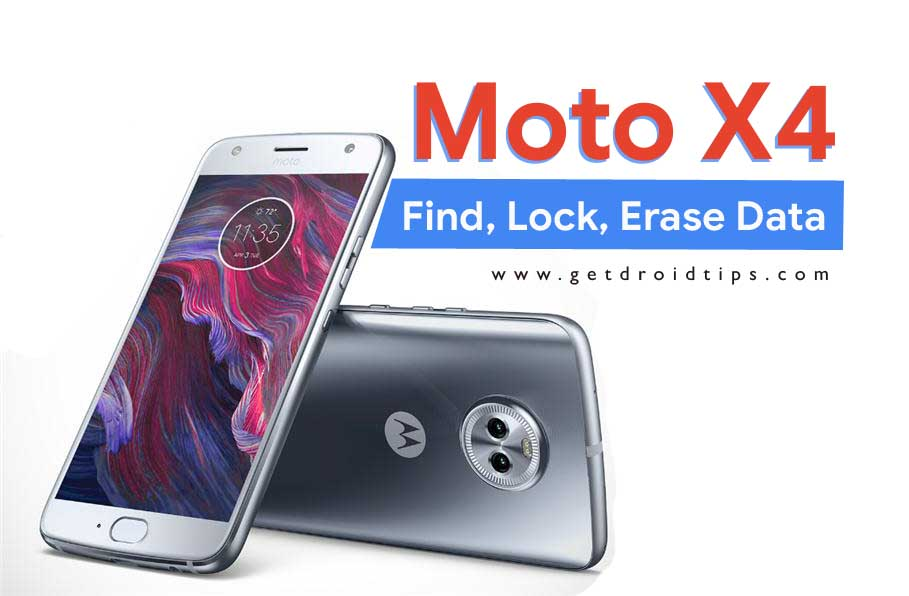 Set Up Lost Phone Feature On Moto X4