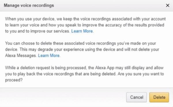 ¿Cómo eliminar todas las grabaciones de voz de Amazon Alexa?