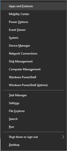 Forma alternativa de abrir aplicaciones y características en Windows