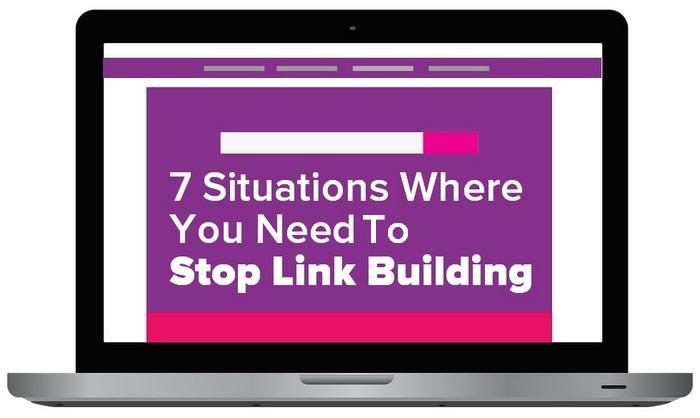 7 situaciones en las que debes detener la construcción de enlaces