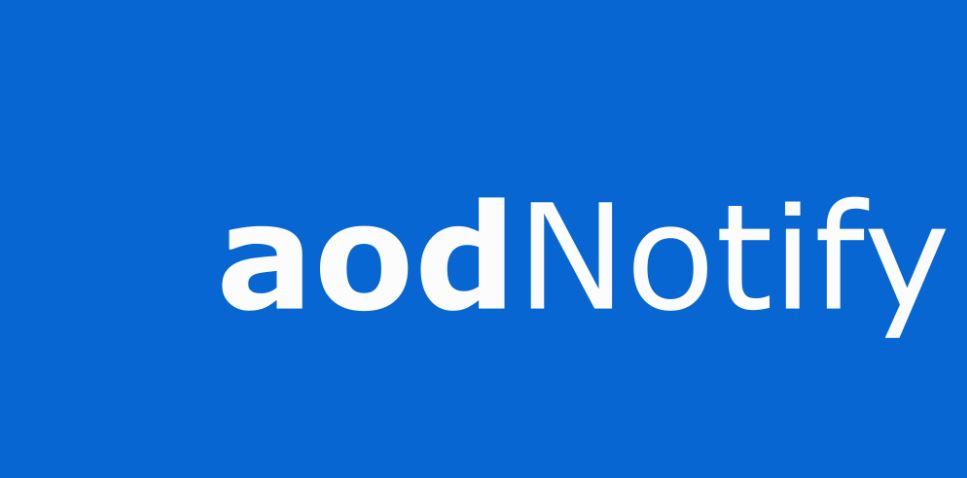 AODNotify: active la alerta de notificación en la pantalla siempre encendida con iluminación de borde