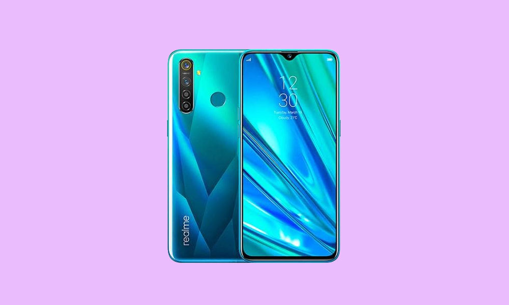 Realme 5 Pro October 2019 Security patch update: RMX1971EX_11.A.11