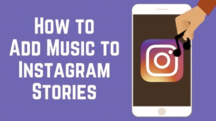 Agregue sus canciones favoritas a sus historias de Instagram