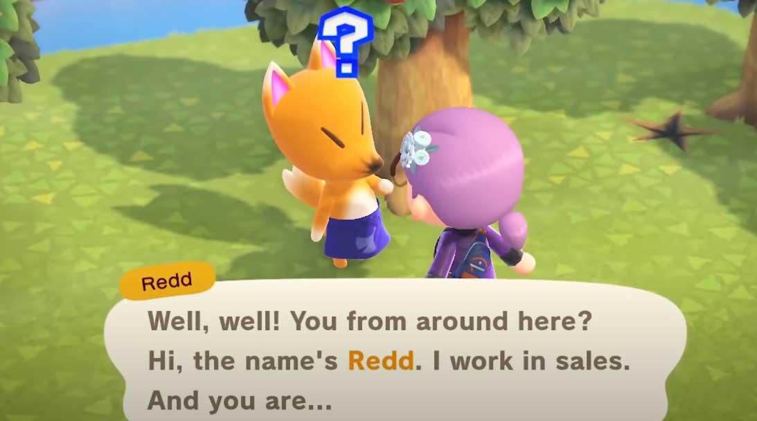 Animal Crossing: New Horizons Redd is missing? How to Fix?