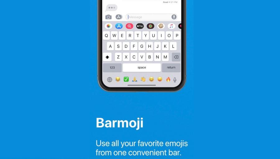 barmoji iOS app