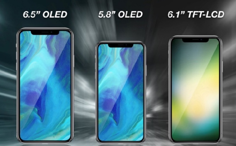 Apple 2018 iPhone lineup