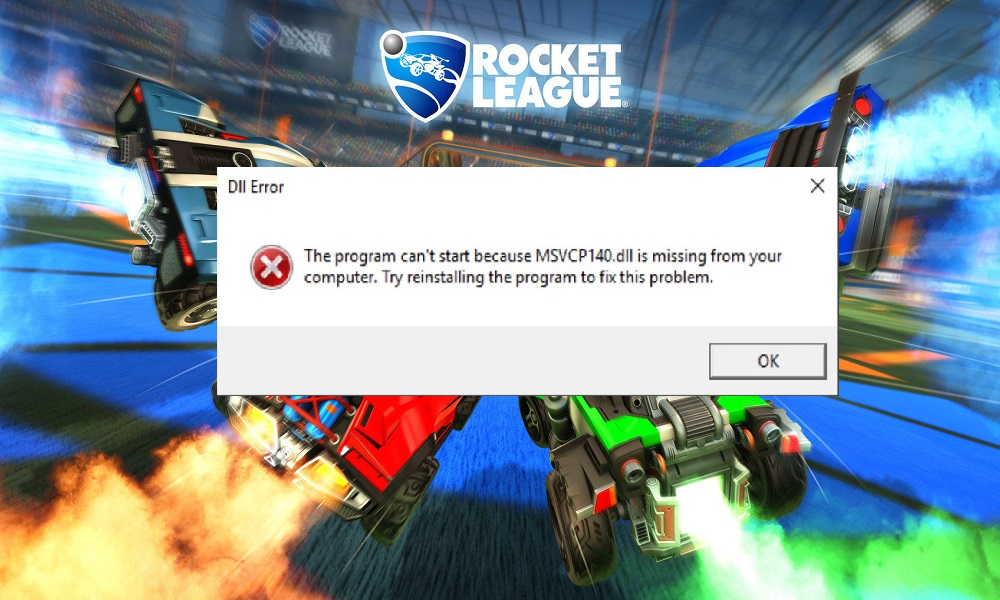 Fix Rocket League MSVCP140.dll or VCRUNTIME140.dll Missing or Not Found
