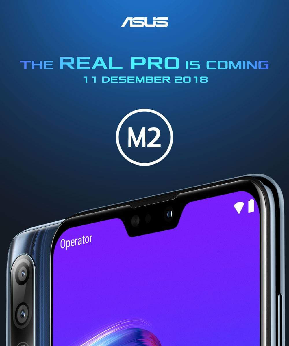Asus ZenFone Max Pro M2 render releasled, confirm notched display and triple rear cameras