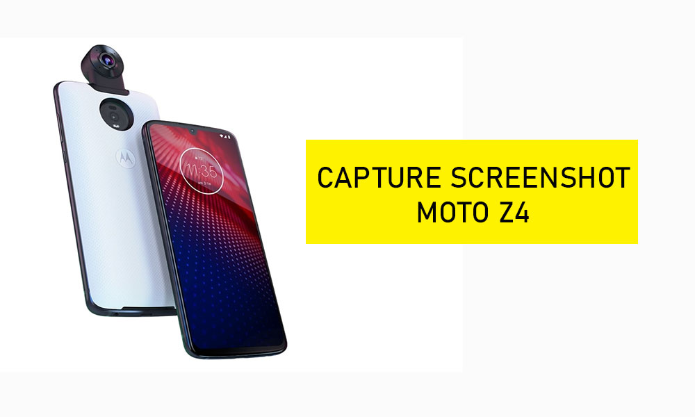 Capture a screenshot on Moto Z4 (How To Guide)