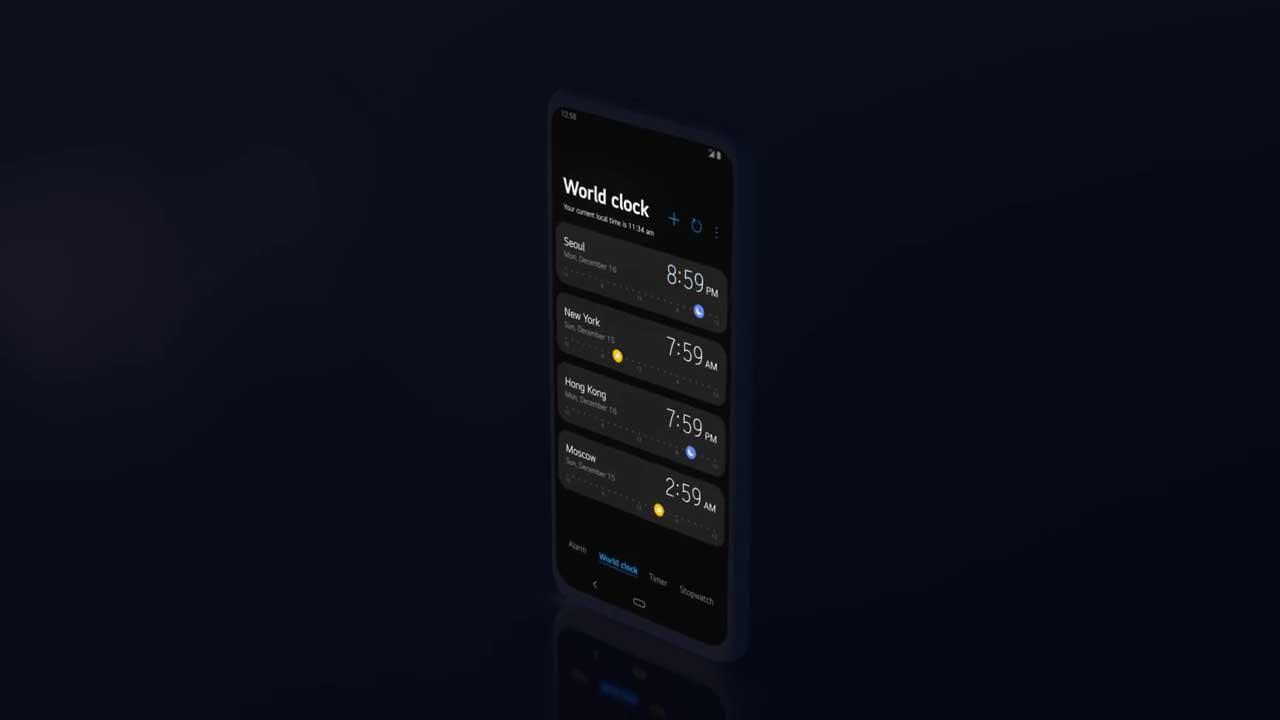 LG UX 9.0 UI
