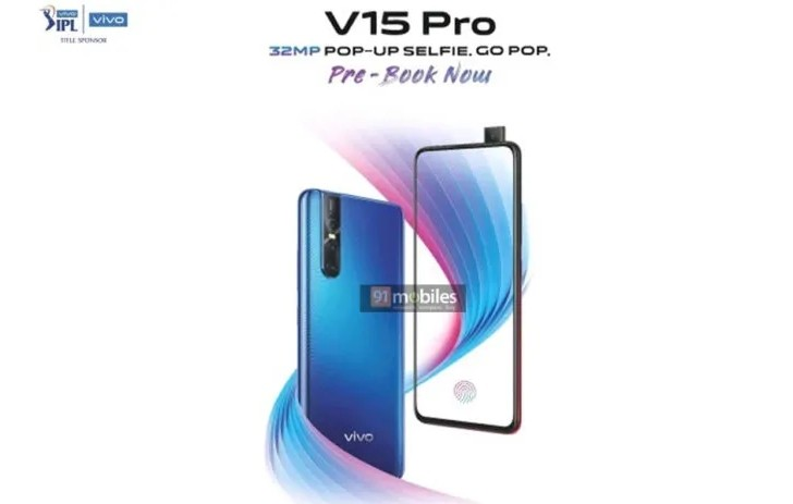 Vivo V15 Pro Promotional Poster Leaked, Reveals its Innovative Design