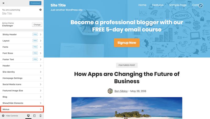 Jak dodać zewnętrzny link do menu WordPress