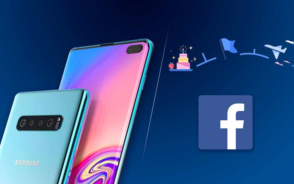 """Cómo arreglar """"Desafortunadamente, Facebook Error detenido """"en Galaxy S10, S10E y S10 Plus"""