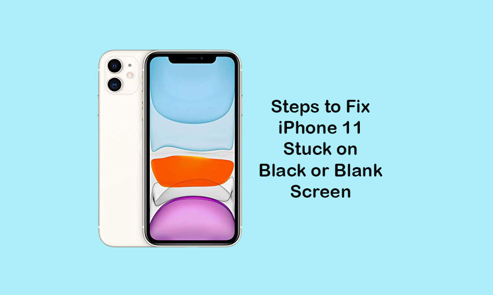 How to Fix iPhone 11 Stuck on Black or Blank Screen