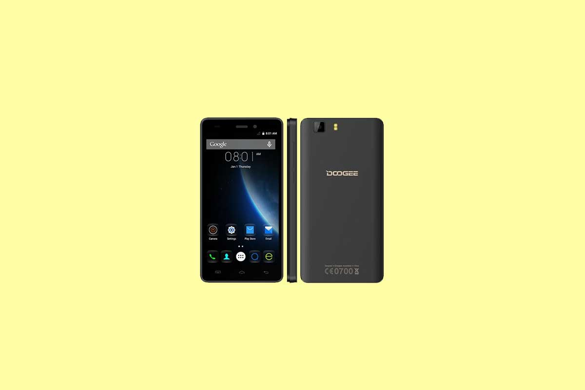 How to wipe cache partition on Doogee X5S