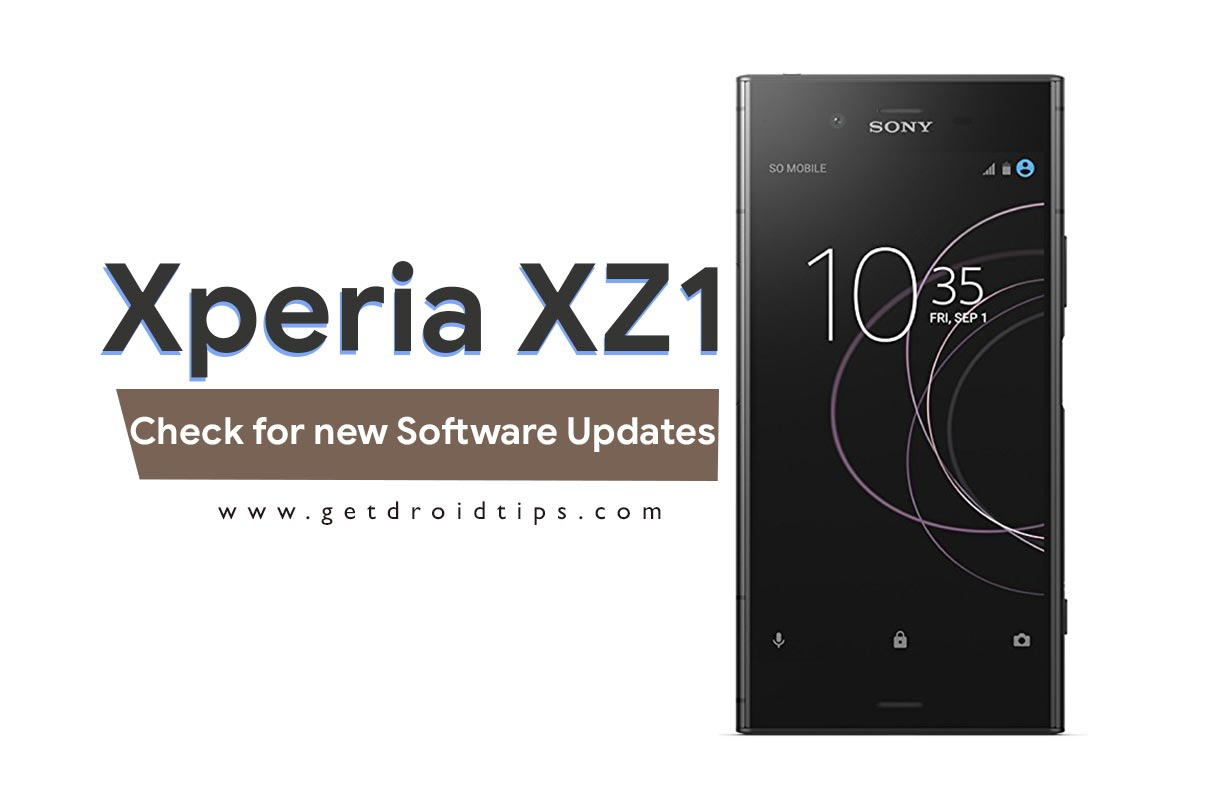 How to Check for new Software Updates on Sony Xperia XZ1