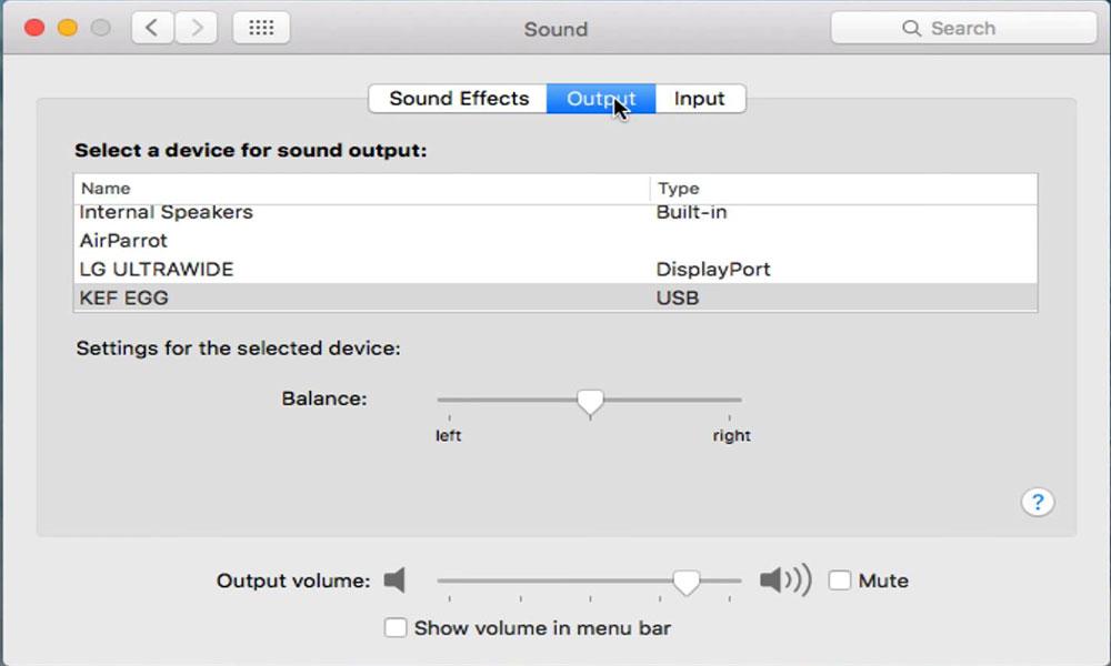 Cómo cambiar el audio de entrada y salida en macOS