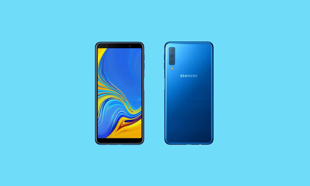 How to change language on Samsung Galaxy A7 2018