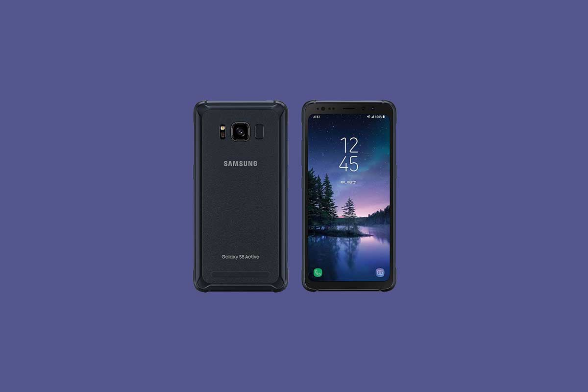 How to change language on Samsung Galaxy S8 Active