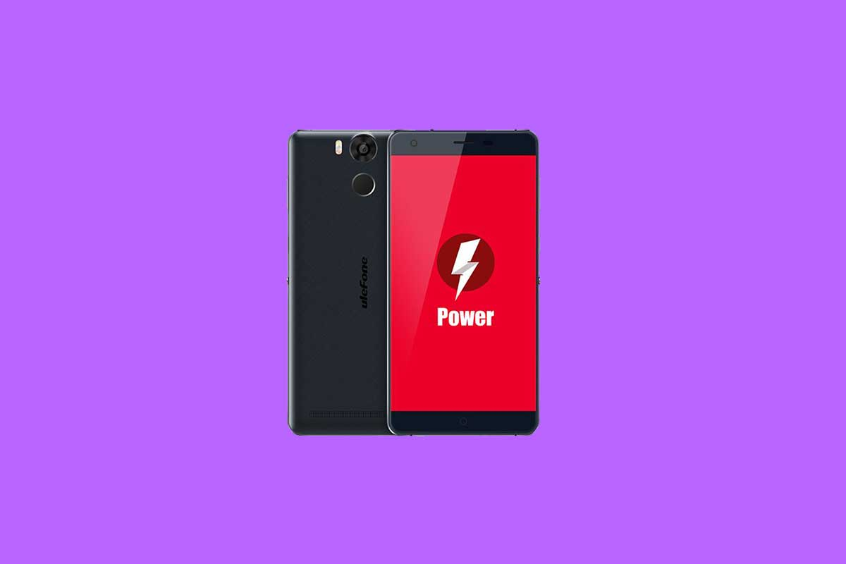 How to change language on Ulefone Power