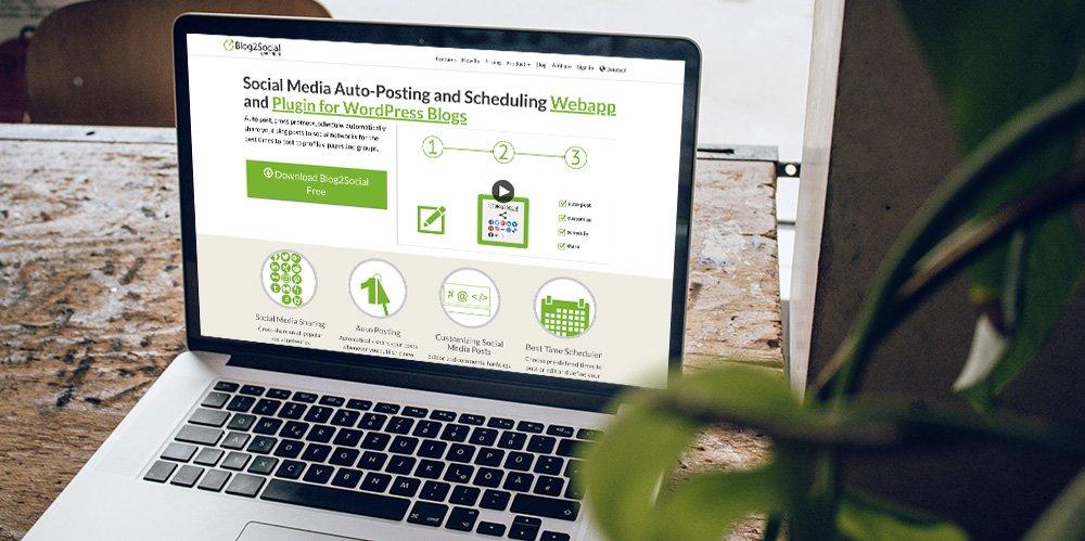 Ako zdieľať obsah WordPress pomocou Blog2Social 1