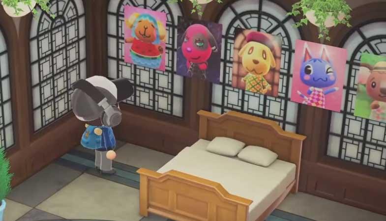 Cómo comprar carteles de tus aldeanos en Animal Crossing New Horizons